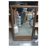 Gabberts Large Wood Framed Mirror 46x28