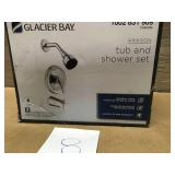Glacier Bay Aragon Single-Handle 1-Spray Tub and Shower Faucet in Chrome (Valve Included) n good condition