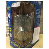 Electronic Stainless Steel Deadbolt with Remote Control n good condition