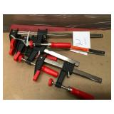 BESSEY Clutch Clamp Set n good condition