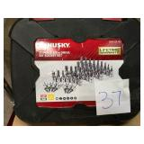 Husky 3/8 in. Drive Master Bit Socket Set (37-Piece) n good condition