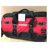 Husky 20 in. Tool Tote Bag with Magnetic Closure not used