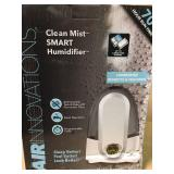 Air Innovations 1.4 Gal. Cool Mist Digital Humidifier for Large Rooms Up To 400 sq. ft. not used