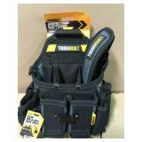 TOUGHBUILT Journeyman Electrician Pouch Shoulder Strap, Black in good condition