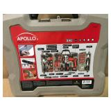 Apollo 161-Piece Household Tool Kit with 4.8-Volt Screwdriver in good condition