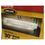 NuTone Allure I Series 30 in. Convertible Range Hood in White in good condition