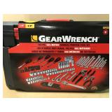 "Gearwrench 80938 143 Piece Mechanics Tool Set 1/4 -1/2"" Drives in good condition"