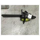 RYOBI 18 in. 38cc 2-Cycle Gas Chainsaw in good condition