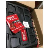Milwaukee 22 in. Packout Modular Tool Box Storage System not used