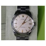 Rare 1948 Rolex Oyster Perpetual owned by WWII War Hero Col. Edwin Loberg
