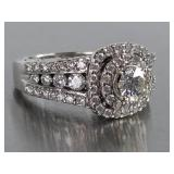 Zales Celebration Grand 1 1/2 CT Diamond Engagement Ring in 14k White Gold
