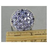 Natural Tanzanite Estate Ring