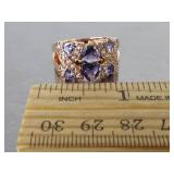 Ladies Tanzanite Estate Ring