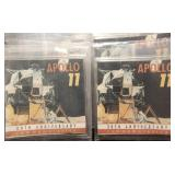 GROUP OF 6 CLAD EISENHOWER DOLLARS APOLLO 11 PACKAGED
