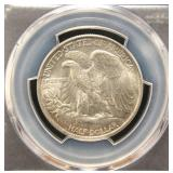 1946 WALKING LIBERTY HALF DOLLAR MS64 PCGS