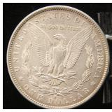 1891-S MORGAN SILVER DOLLAR UNC
