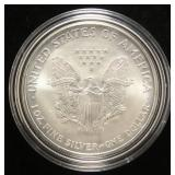 2003 AMERICAN SILVER EAGLE 1 TROY OZ. .999 FINE SILVER IN AIRTITE