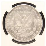 1904-O MORGAN SILVER DOLLAR MS63 NGC