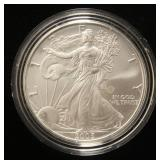 2005 AMERICAN SILVER EAGLE 1 TROY OZ. .999 FINE SILVER IN AIRTITE