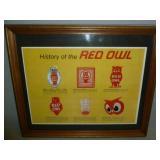 Vintage Red Owl
