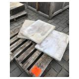 3 pcs 18x24 concrete textured tile ...
