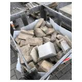 Crate full of misc cultured stone v...