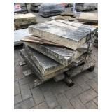 "1-30""x30"" 4"" thick Biesanz pilla..."