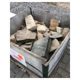 Crate of misc stone...