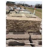51 Allan Block Fence panel block + ...