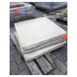 """31x31 concrete pillar cap (3"""" thic..."""