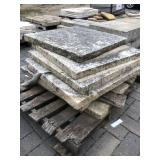 30x30 Winona travertine pillar cap ...