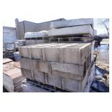 2 Full Pallets of Construction Cinder Blocks