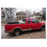 1999 Ford F-150 Lariat 4 x 4 Pick Up Truck