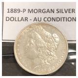 1889-P Morgan Dollar
