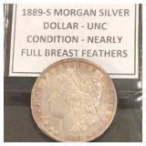 1889-S Morgan Dollar