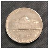 1939-S Nickel