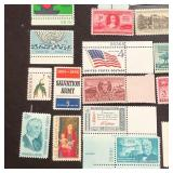 (60) Different Mint U.S. Stamps