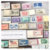 (60) Different Mint 4-Cent U.S. Stamps