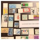 (50) Different Mint 5-Cent U.S. Stamps