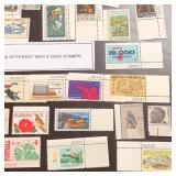 (40) Different Mint 6-Cent U.S. Stamps