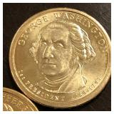2007-D UNC Presidential Dollars