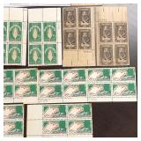 Plate Block Stamp Complete Sets