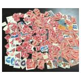 (4) Bags Of Assorted U.S. Stamps
