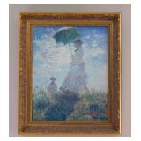 "Claude Monet, ""Woman with a Parasol - Madame Monet and Her Son"" (1875)"
