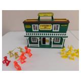 Cowboy Casino Hall Playset