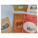 Vintage Farm Equipment Owner/Operators Manuals