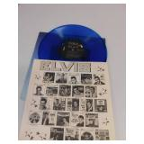 Elvis Blue Vinyl  Record