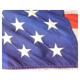 United States Flag with Base