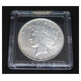 1923 Peace Silver Dollar High Quality, Brilliant in Air-Tite Holder