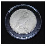 1923 D Peace Silver Dollar High Quality, in Air-Tite Holder